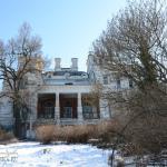 Усадьба Филиппова Роднево, дом со стороны парка