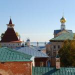 Кремль Ростов Великий, панорама с озером Неро