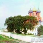 Успенский собор Рязанского Кремля. Фото С.М. Прокудин-Горский