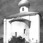 Рюриково Городище, церковь Благовещения, фото нач. XX в.