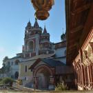 Саввино-Сторожевский монастырь, вид на звонницу