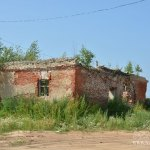 Усадьба Шарапово, постройка рядом с храмом