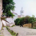 Уголок смоленской крепости. Фото С.М. Прокудин-Горский