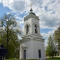 Спасо-Бородинский монастырь Владимирский собор колокольня