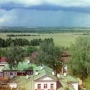 Вид с колокольни Спасо-Бородинского монастыря. Фото С.М. Прокудин-Горский