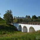Белозерск. Мост через ров
