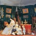Куракина Ю.Ф. с четырьмя детьми