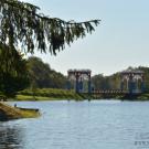 Усадьба Степановское-Волосово, мост на пруду