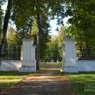 Усадьба Степановское-Волосово, боковые ворота ограды