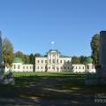 Усадьба Степановское-Волосово, главный дом, вид из парка