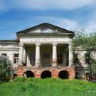 Усадьба Стеблево, вид на главный дом из парка