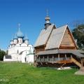 Суздаль, кремль (на заднем плане Рождественский собор)