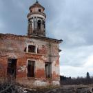 Усадьба Теплое. Знаменская церковь, колокольня