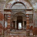 Усадьба Теплое. Знаменская церковь, интерьер