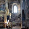 Тихвинский Богородице-Успенский монастырь, интерьер Успенского собора
