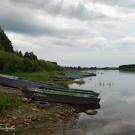 Тотьма, берег р. Сухона
