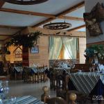 Гостиница-кафе при въезде в Тотьму