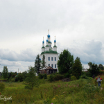 Тотьма. Церковь Троицы Живоначальной на Зелене