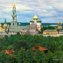 Троице-Сергиева Лавра (советская открытка)