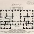 Царское Село, план первого Екатерининского дворца