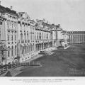 Царское Село, дворец со стороны двора до перестройки главного крыльца