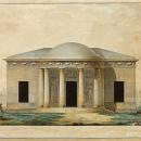 Джакомо Кваренги. Царское Село. Павильон «Концертный зал» , 1782-1783 гг.