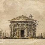 Джакомо Кваренги. Кухня-руина в Царском Селе  1780-е гг.