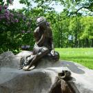 Царское Село, фонтан «Девушка с кувшином»