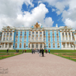 Царское Село, Екатерининский дворец парковый фасад