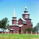 Церковь Иоанна Богослова на реке Ишне. Фото С.М. Прокудин-Горский