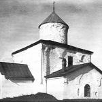 Церковь Спаса Преображения на Ковалеве, фото нач. XX в.
