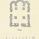 Церковь Спаса Преображения на Нередице, план