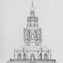 Усадьба Уборы. Спасская церковь, фасад