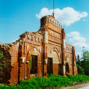 Усадьба Берга, фрагмент конного двора