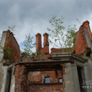 Усадьба Крекшино, руины главного дома
