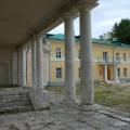 Усадьба Золотарева в Калуге, вид на флигель со стороны внутреннего двора