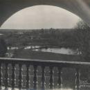 Усадьба Афинеево вид с балкона дома на парк