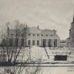 Усадьба Афинеево главный дом