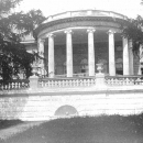 Ротонда паркового фасада главного дома в усадьбе Ахтырка. 1909 г.
