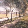 Вид Ахтырки (Фрагмент). Неизв. художник, 1840-е гг.
