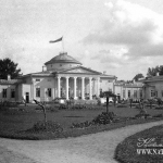 Усадьба Ахтырка, дворец. Архивное фото