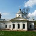 Усадьба Алексино, церковь Андрея Стратилата