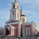Усадьба Алмазово. Церковь Сергия Радонежского. Вид с запада