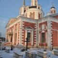 Усадьба Алмазово. Церковь Сергия Радонежского. Вид с юго-востока