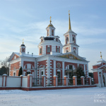 Усадьба Алмазово. Дом причта (дворовый фасад)
