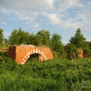 Усадьба Алёшково, руины главного дома