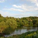 Усадьба Алёшково пруд