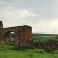 Усадьба Алёшково, ворота парадного двора