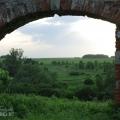 Усадьба Алёшково, арка ворот парадного двора
