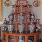 Усадьба Архангельское, парадная столовая (горка с китайским фарфором)